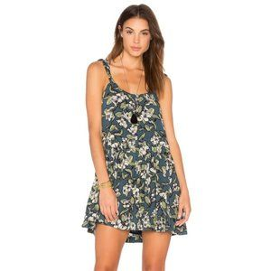 Free People Dear You Floral Blue Dress NWT